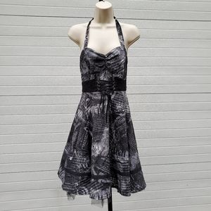 Hot Topic sz M musical note lined dress